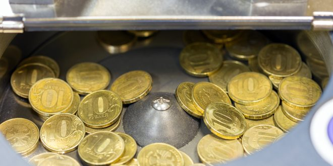 מכונה לספירת מטבעות